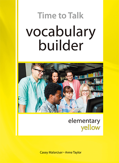 Time To Talk vocabulary builder